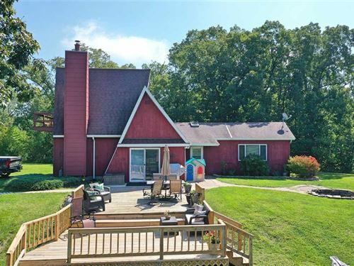 20 Acres 4Br/2Ba Home For Sal : Bloomfield : Davis County : Iowa