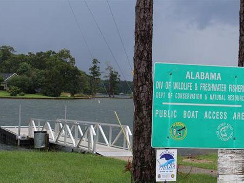 Beautiful Lake Lot 10 Acres : Lake Harding : Lee County : Alabama