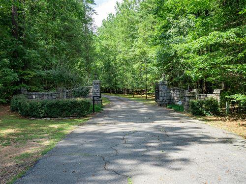 18.78 Acre Lot On Lake Oconee : Eatonton : Putnam County : Georgia