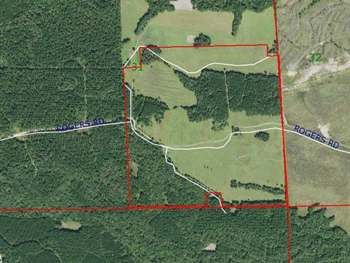 Pasture Land & Recreational Tract : Hurtsboro : Russell County : Alabama