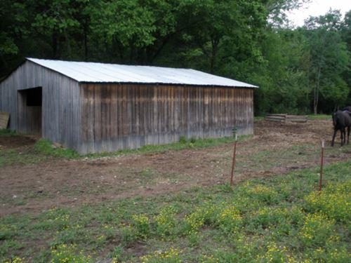 161+ Ac Farm, Creek, Springs, Barn : Celina : Clay County : Tennessee