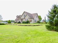 23+/- Acres With Custom Built Home : Danville : Montour County : Pennsylvania
