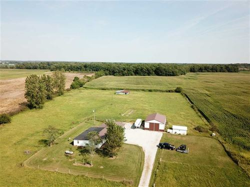 For Sale Home And 36 Acres 29 Woo : Albany : Delaware County : Indiana