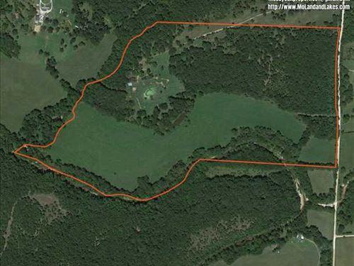 Live Creek Bottom 85 Acre Farm : Hermitage : Hickory County : Missouri