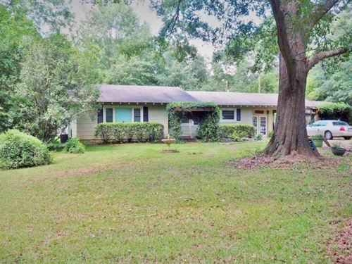 3 Bed/2 Bath Home, 48 Acres, Pond : Jayess : Lawrence County : Mississippi