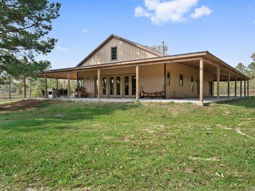 149 Acres Birdwell Ranch : Bedias : Walker County : Texas
