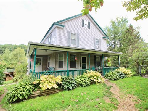 30 +/- Acres, Quaint Farmette : Benton : Columbia County : Pennsylvania