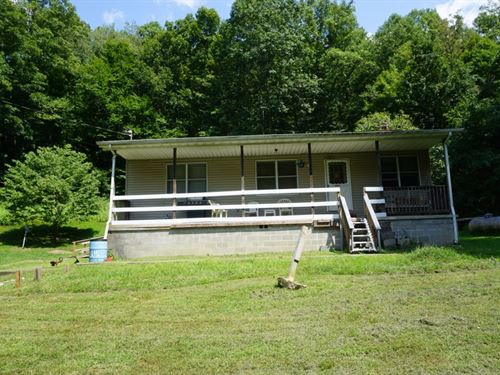 46 Acres, Enjoy Country Living : Bomont : Clay County : West Virginia