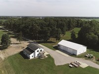 Major Land Auction In Indiana : Spencerville : De Kalb County : Indiana