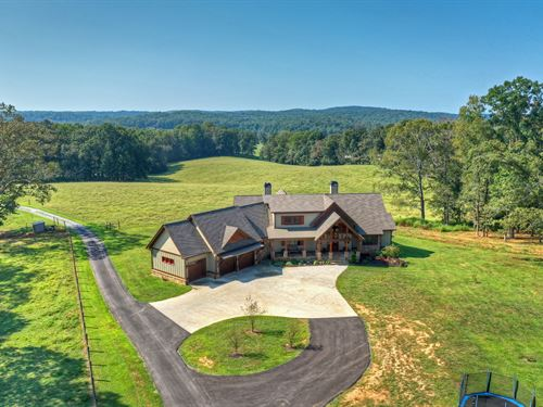 North Ga Mountain Cattle Farm : Ellijay : Gilmer County : Georgia