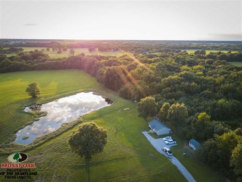 Small Home And 120 Acres For Sale : Oswego : Labette County : Kansas