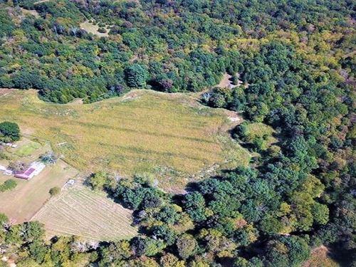 76 Acre Hunting Property Adams : Seaman : Adams County : Ohio