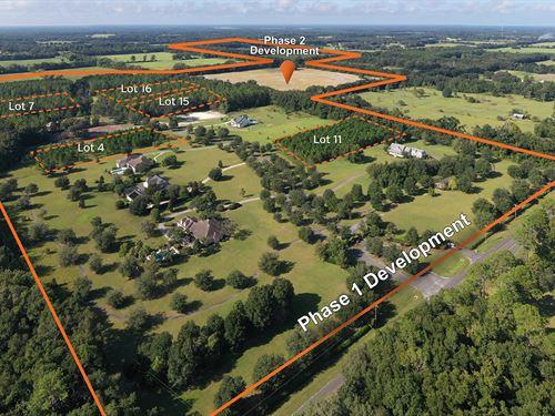 131 Acre Sfr Entitled Development : Newberry : Alachua County : Florida