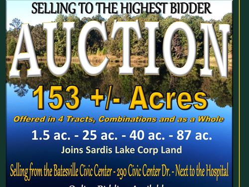 Selling To The Highest Bidder : Batesville : Panola County : Mississippi