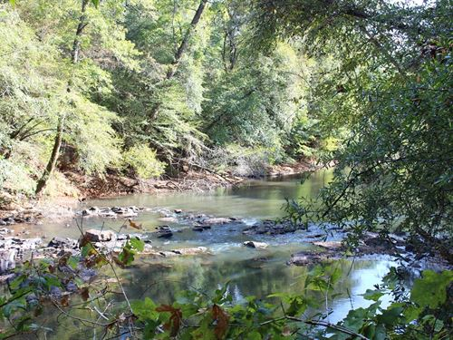 9,000 Feet Of Creek Frontage : Thomaston : Upson County : Georgia