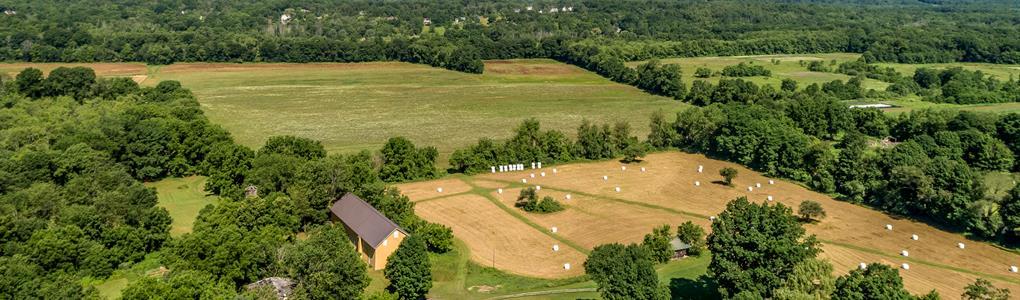 New Paltz Last Remaining Farm : New Paltz : Ulster County : New York
