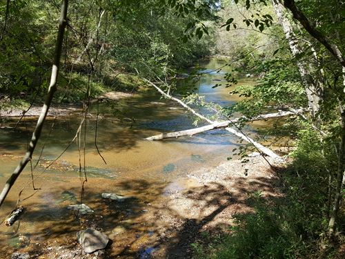 3 Miles Of Crooked Creek Runs Thru : Lineville : Clay County : Alabama