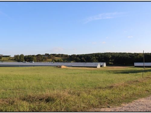 40 Acre 6 House Broiler Farm In Lea : Carthage : Leake County : Mississippi