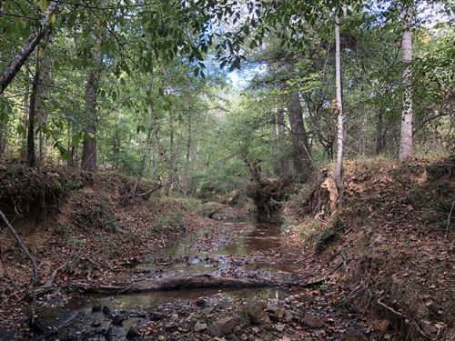 Chapman Creek Homesite & Rec Land : Belton : Greenville County : South Carolina