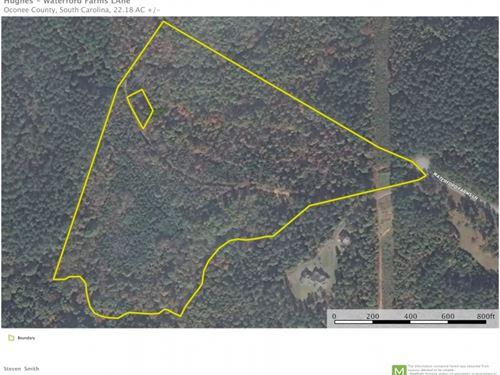 22.18, Unique Acres With Flowin : Seneca : Oconee County : South Carolina