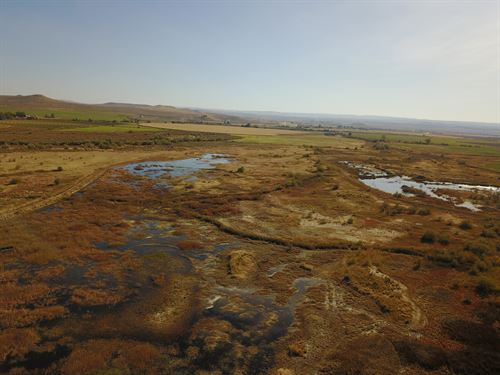 Private Waterfowl Hunting Retreat : Bruneau : Owyhee County : Idaho