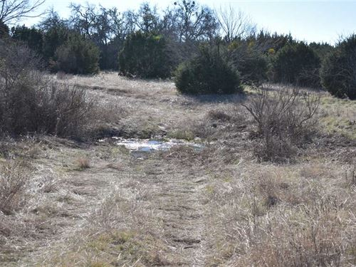 Central Texas Land For Sale, 25 : Goldthwaite : Mills County : Texas
