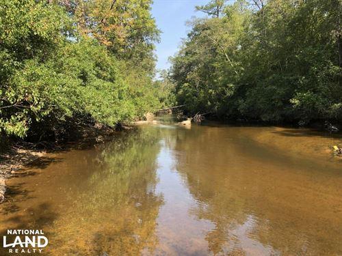 Homesite With Pond on Black Creek : Hattiesburg : Forrest County : Mississippi
