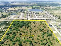 30 Acres North Lake Wales, Fl : Lake Wales : Polk County : Florida