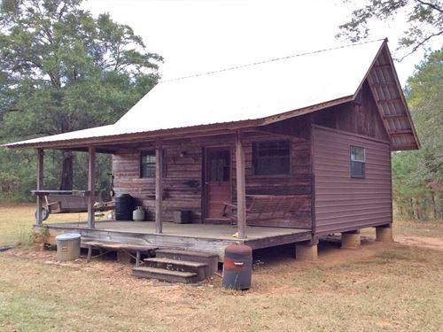 Co Rd 30 Cabin : Evergreen : Conecuh County : Alabama