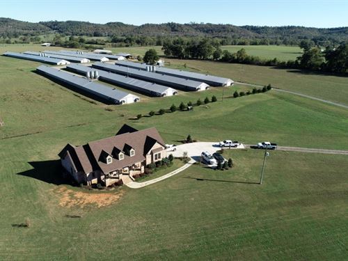 Backstrom Poultry 8 House Farm : Guntersville : Blount County : Alabama