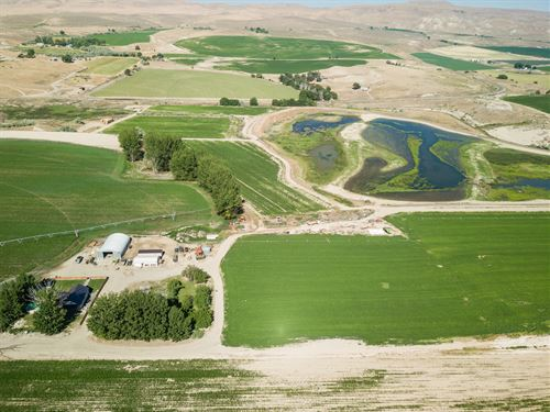 Private Wetlands & Hunting Ranch : Adrian : Malheur County : Oregon