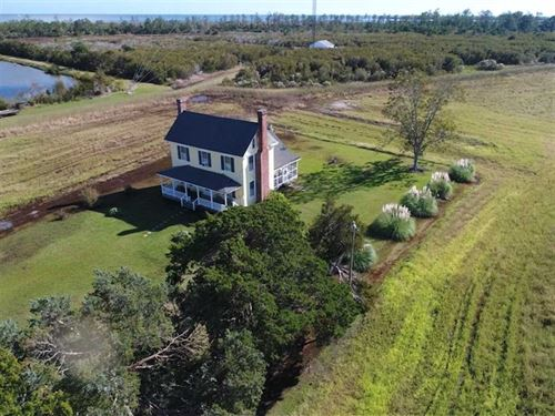 Under Contract, 20 Ac of Farm LA : Engelhard : Hyde County : North Carolina