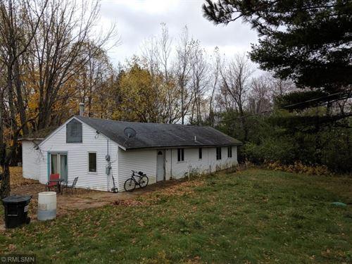 Investment Property, Fixer Upper : Sandstone : Pine County : Minnesota