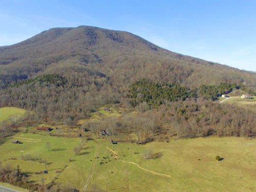 291 Acres Recreational Paradise : Pearisburg : Giles County : Virginia