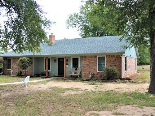 Country Home Equine Property Paris : Paris : Lamar County : Texas