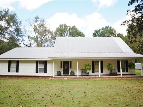 3 Bed/3 Bath Home, 28 Acres Riverfr : Meadville : Amite County : Mississippi