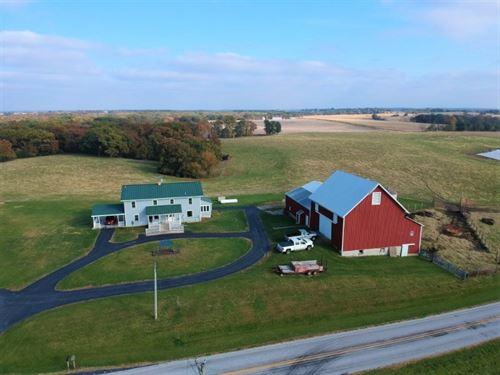 Wagonhound Ranch : Liberty : Adams County : Illinois