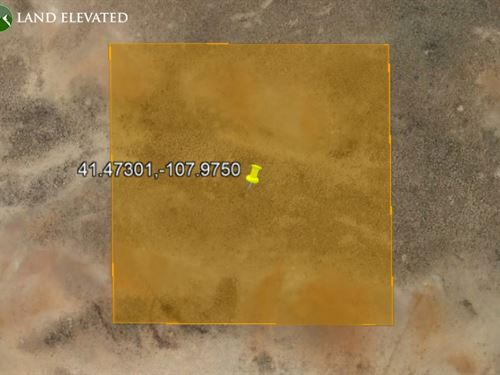 Own Land in Sweetwater, 40 Acres : Wamsutter : Sweetwater County : Wyoming