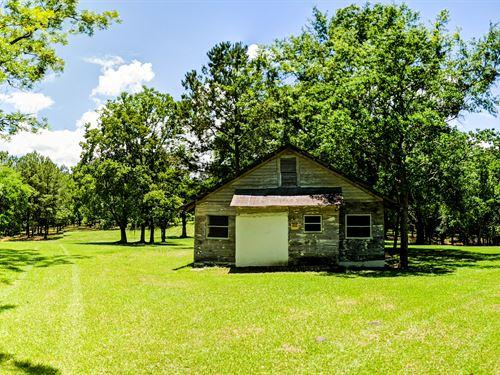 Beautiful Farm With Creek And Barn : Chattahoochee : Gadsden County : Florida