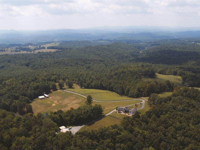 Horse Farm on 35 Acres : Floyd : Floyd County : Virginia