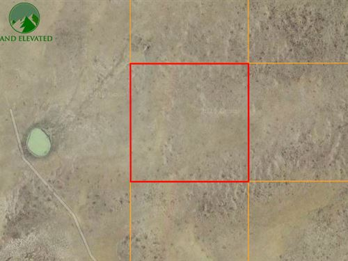 Own Vast Desert Property, 40 Acres : Wamsutter : Sweetwater County : Wyoming