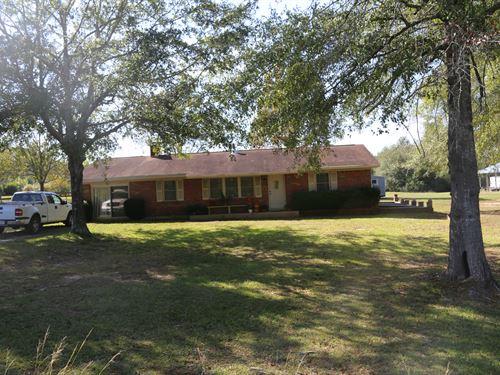 Country Home, Mount Pleasant Rd : Georgiana : Butler County : Alabama