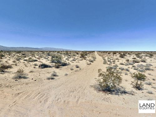 Bargain Priced 10Ac, Wonder Valley : Twentynine Palms : San Bernardino County : California