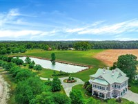 GA Ranch With Luxury Home For Sale : Portal : Bulloch County : Georgia
