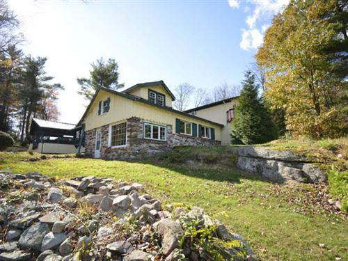 Home With 11 +/- Acres of Wildlife : Benton : Columbia County : Pennsylvania