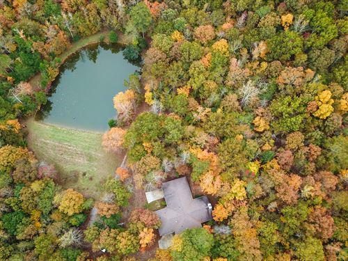 Nice Custom Home on 150 +/- Acres : Camp Hill : Tallapoosa County : Alabama