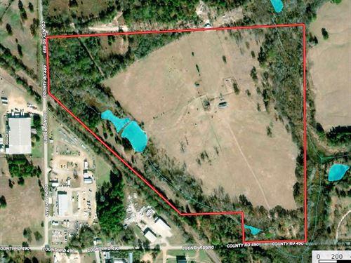 Recreational Farm Land Tyler : Tyler : Smith County : Texas