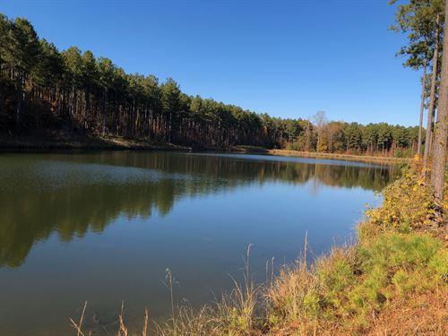 Lake Retreat at Gills Point : Tignall : Lincoln County : Georgia