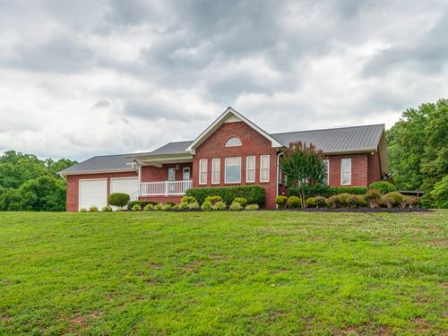 Home on 31 Acres : Hurricane Mills : Humphreys County : Tennessee