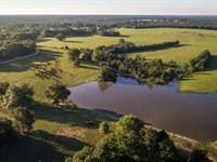 Hausler Creek Ranch : Fairfield : Freestone County : Texas